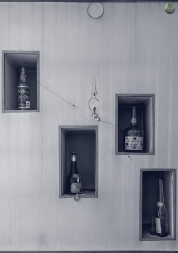 Kolekcja alkoholi wojskowego