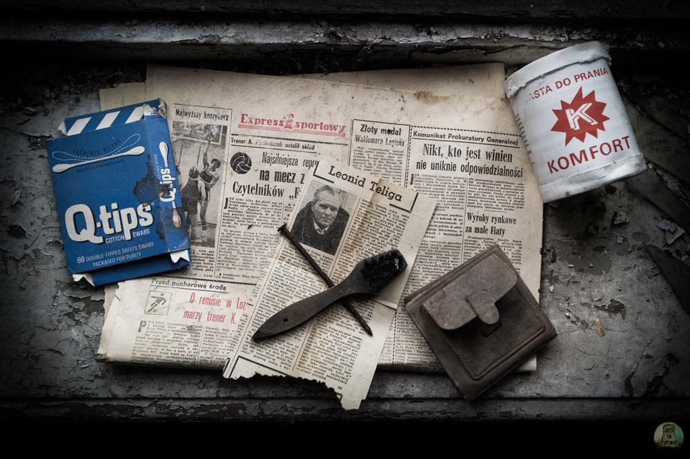 Relikty w opuszczonej willi